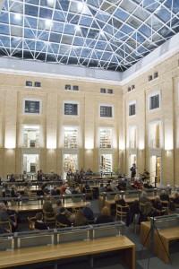 Ausstellungseröffnung im Lesesaal West