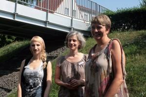 (v.l.n.r.) Patricia Apel, Katrin Schmidt, Heike Dummer