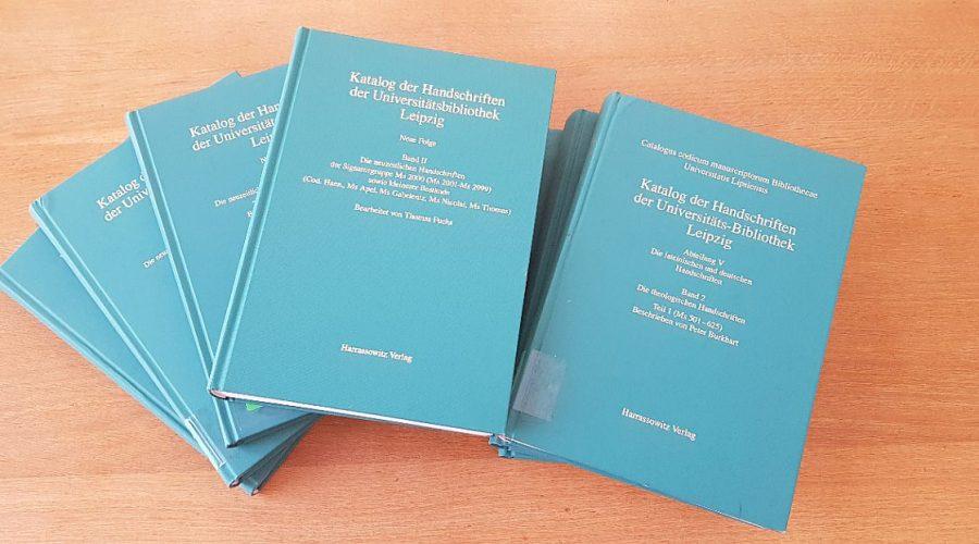 Bände aus der Neue Folge der Handschriftenkatalogigierung
