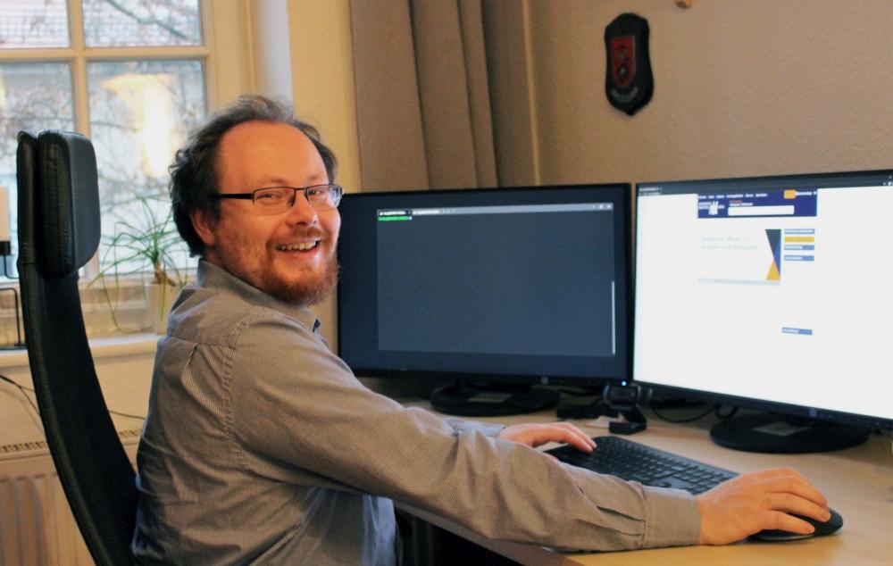 Stefan Freitag, Leiter der AG Anwendungsentwicklung